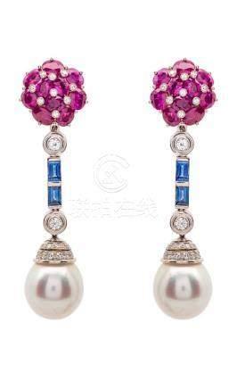Very Fine Pearl Drop Earrings
