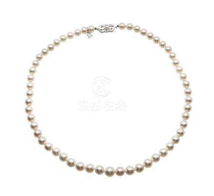 Mikimoto, Cultured Pearl Necklace