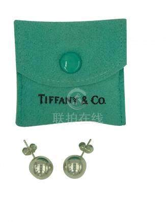 Tiffany and Co.,12 mm Smooth Ball Earrings <