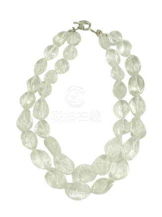 Double Rock Crystal, Jumbo Strand
