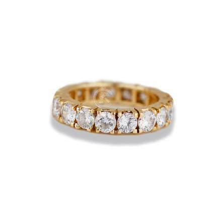 Eternity Band, 14 Karat, Quality 3.30 TCW
