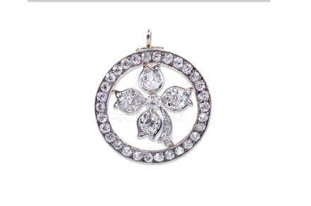 Tiffany & Co. 3.82 TCW Platinum-Gold Diamond