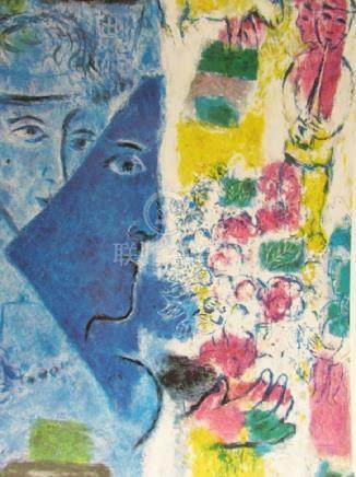 Signed Lithograph - Marc Chagall H184