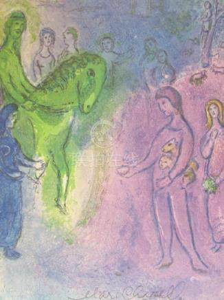 Signed Lithograph - Marc Chagall H89