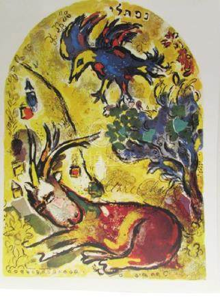 Signed Lithograph - Marc Chagall H146