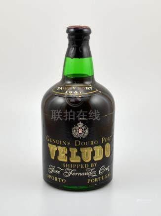 1 bottle 1947 Tawny Port Veludo Genuine Douro Port