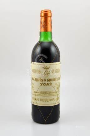 1 bottle 1985 Marques de Murrieta Ygay Gran Reserva