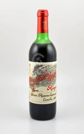 1 bottle 1987 Castillo Ygay Gran Reserva Especial