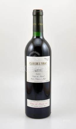 6 bottles of 1995 Clos de l'Obac, Priorat, each approx