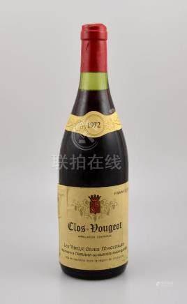 1 bottle 1972 Cloas Vougeot, Les Vieux Chais Maconnais