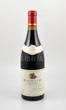 1 bottle 1990 Beaune 1er Cru Les Avaux, A.Ligeret