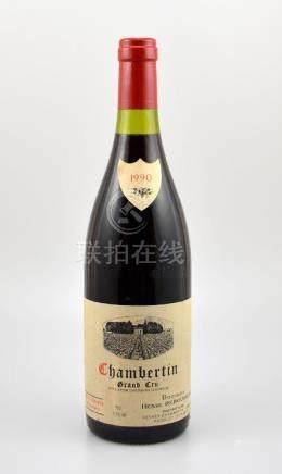 2 bottles 1990 Chambertin Grand Cru, Domaine Henri