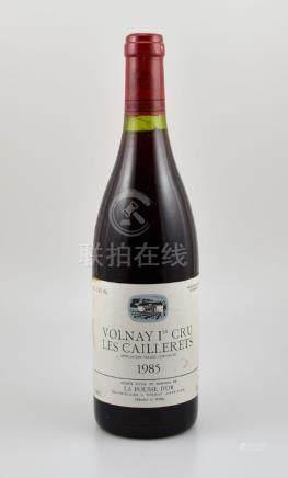 2 bottles of Volnay Les Caillerets, La Pousse D'Or, 1er