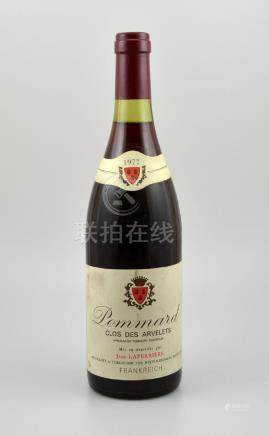 3 bottles of 1977 Pommard Clos des Arvelets, each