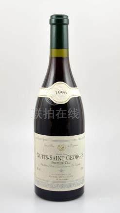 5 bottles of 1996 Nuits-Saint-Georges, Premier Cru,