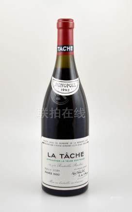 1 bottle of 1992 La Tache Grand Cru, Domaine de La
