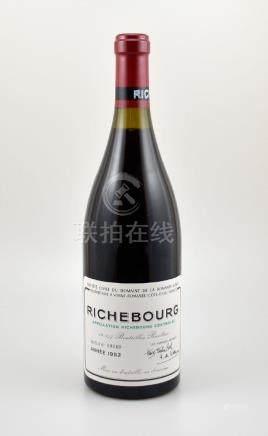 1 bottle 1992 Richebourg Grand Cru, Domaine de La