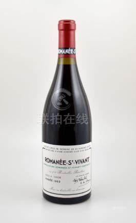 1 bottle 1992 Romanee St-vivant Grand Cru, Domaine de