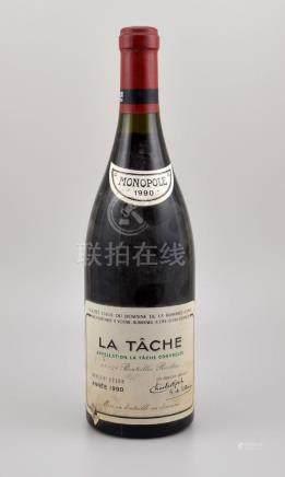 1 bottle 1990 La Tache Grand Cru, Domaine de La