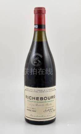 1 bottle 1990 Richebourg Grand Cru, Domaine de La