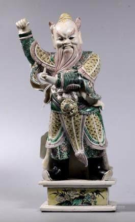 Christie's Chinese Kangxi ca 1700 Porcelain Guandi