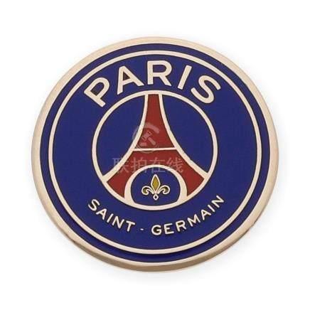 Emblema del Paris Saint Germain esmaltado y realizado en oro