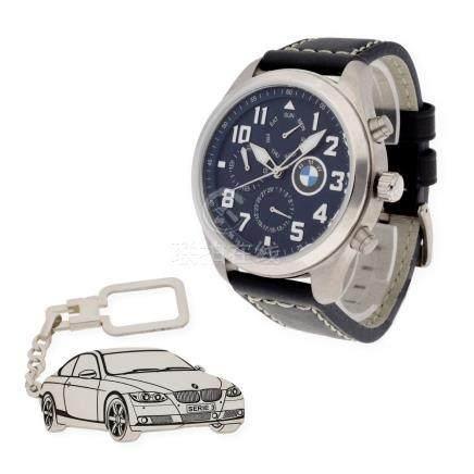 Conjunto de reloj de caballero S&S para BMW con caja de acer