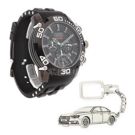 Conjunto de reloj de caballero S&S para Audi con caja de ace