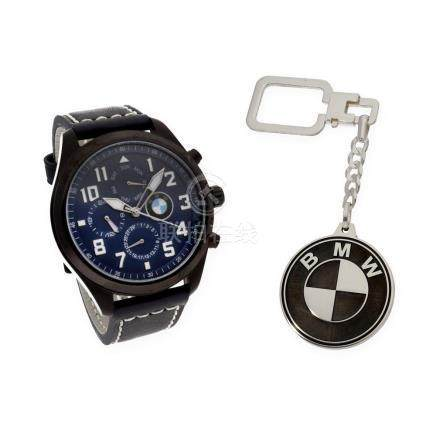 Reloj de caballero S&S para BMW con caja de acero resistente