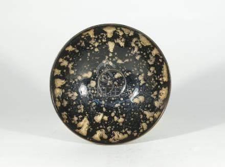 宋代-吉州窯玳瑁斑碗