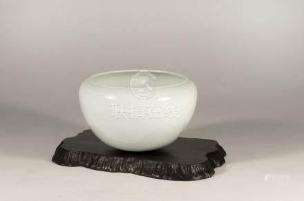 宋代-影青缽式水盂