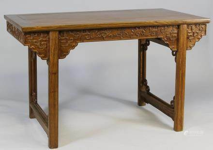 Early 20th C., Huanghuali reactangle Ming-style table