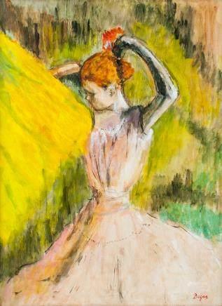 Style of Edgar Degas French Impressionist OOC