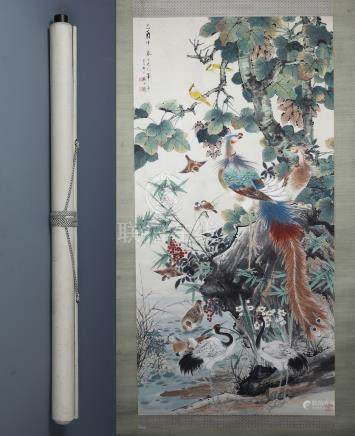 A Fine Chinese Classic Painting By Yan Bolong - Order