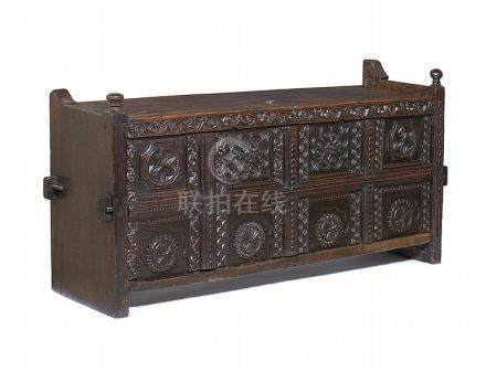 Arca Rajasthan Índia séc. XIX em madeira exótica