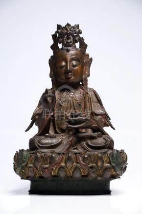 Sitting Guanyin