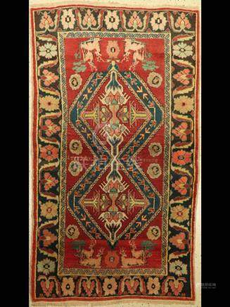 Karabagh Rug (Signed), Caucasus, around 1940/50