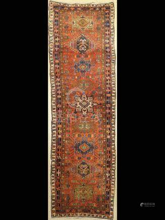 Karadja 'Gallery' Runner, Persia, around 1920,wool on