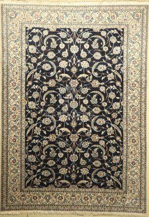 Nain Carpet, Persia, approx. 40 years, wool on cotton