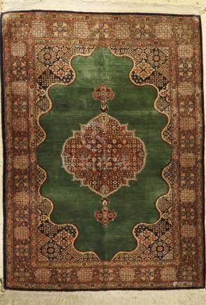 Ghom silk Rug, Persia, approx. 40 years, pure natural
