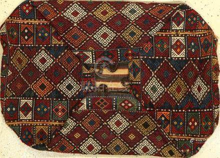 Bergama 'Mafrash', turkey, around 1920, wool on wool