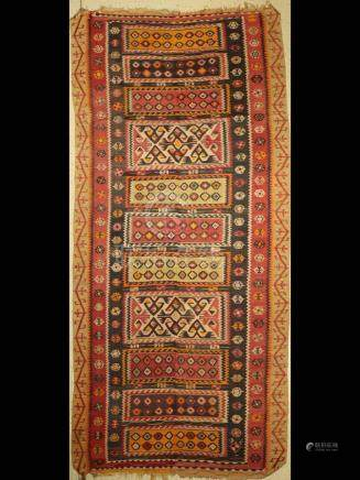 Anatolian kilim, Turkey, Corum-Cankiri, around 1920/1930