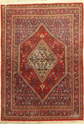 Bidjar Rug, Persia, approx. 40 years, wool on cotton
