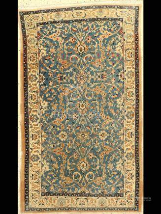 Nain Rug, Persia, approx. 40 years, wool with silk