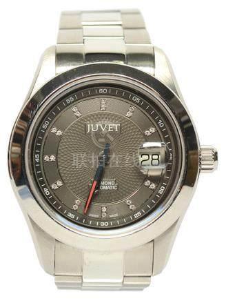 瑞士 JUVET 鋼自動上鏈腕錶