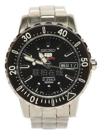 日本 SEIKO 精工鋼自動上鏈腕錶