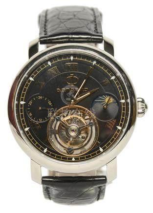 DONGBAO 陀飛輪皮帶腕錶