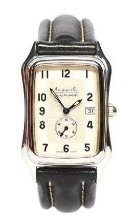 瑞士 AUGUSTE REYMOND 鋼鍍金手動上鏈皮帶腕錶