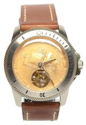 陀飛輪皮帶腕錶