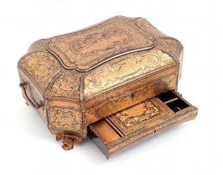 A CHINESE SEWING BOX